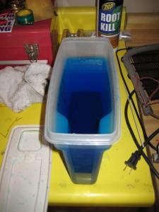 Copper sulfate bath